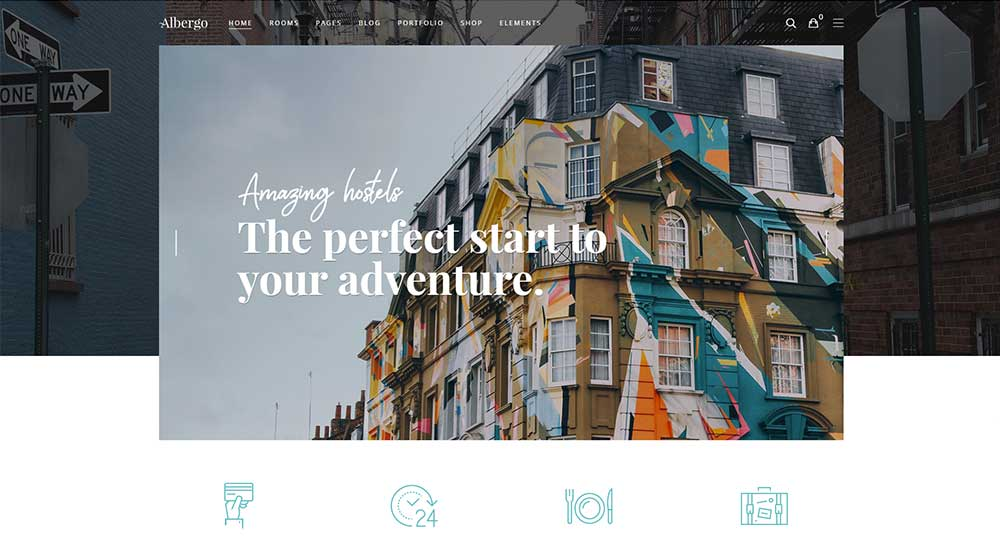 Albergo WordPress Theme
