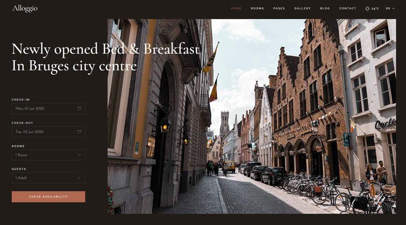 Alloggio WordPress Theme