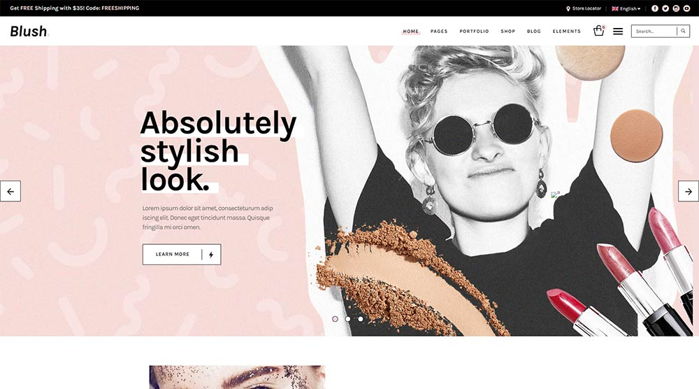 Blush-WordPress-Theme
