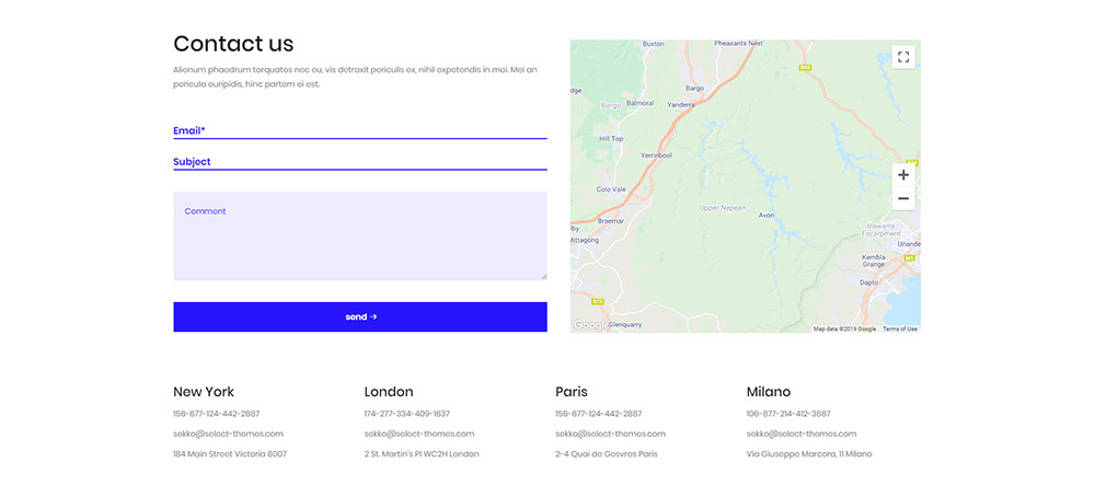 Contact Page WordPress