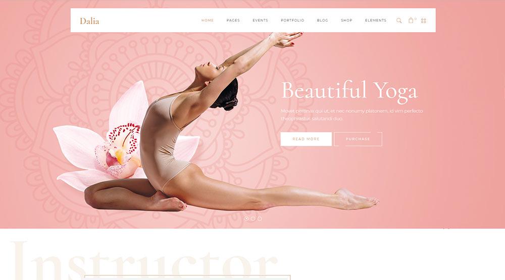 Dalia WordPress Theme