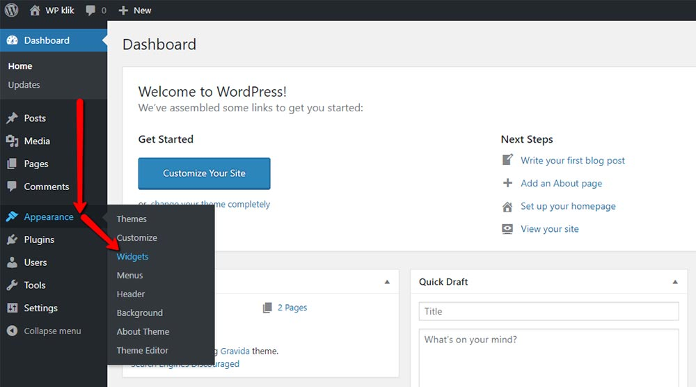 What Is WordPress Sidebar and How to Create It 3