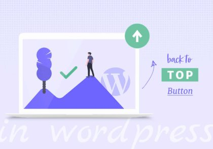 How to Make a Back to Top Button in WordPress