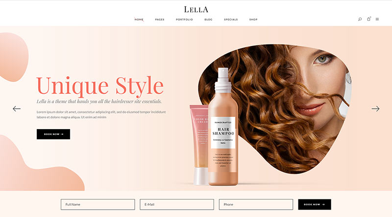 Lella WordPress Theme