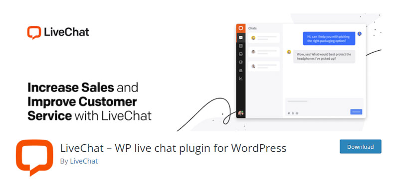 LiveChat WP live chat plugin for WordPress