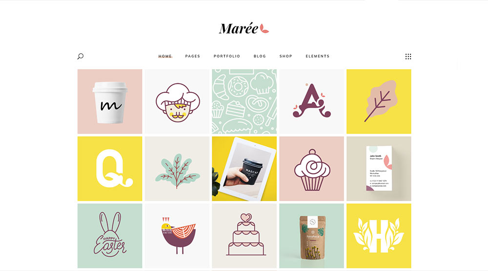 Maree WordPress Theme