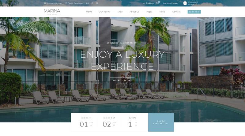 Marina WordPress Theme