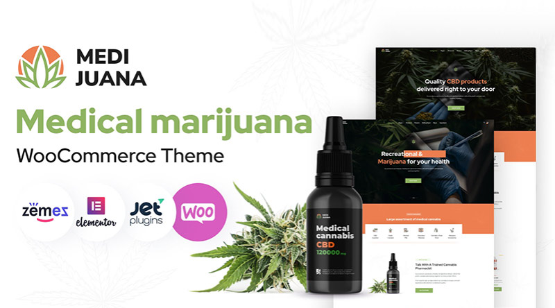 Medijuana WordPress Theme