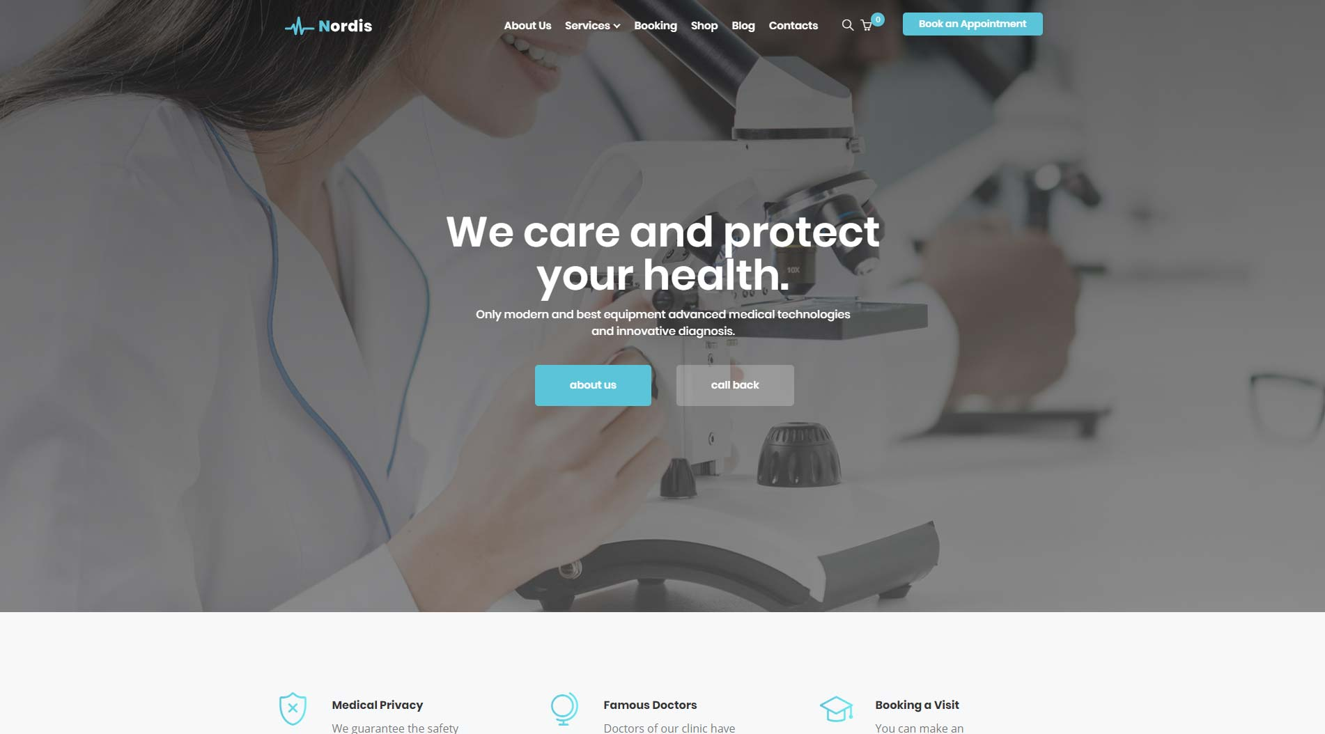 Nordis WordPress Theme