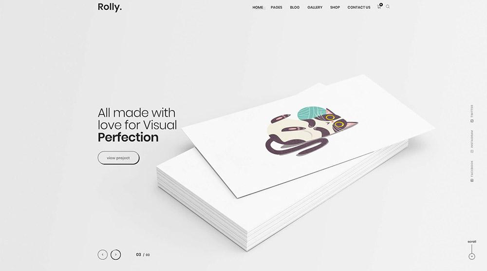 5+ Best Artist Portfolio WordPress Themes - WPKlik