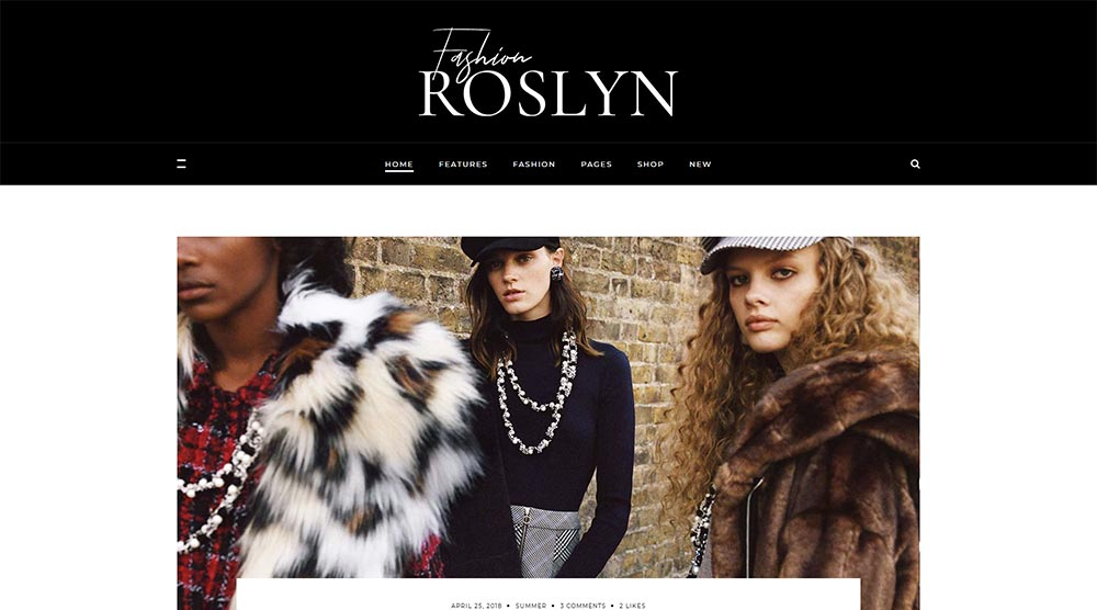 Roslyn-WordPress-Theme