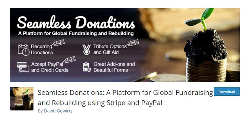 Seamless Donations Plugin