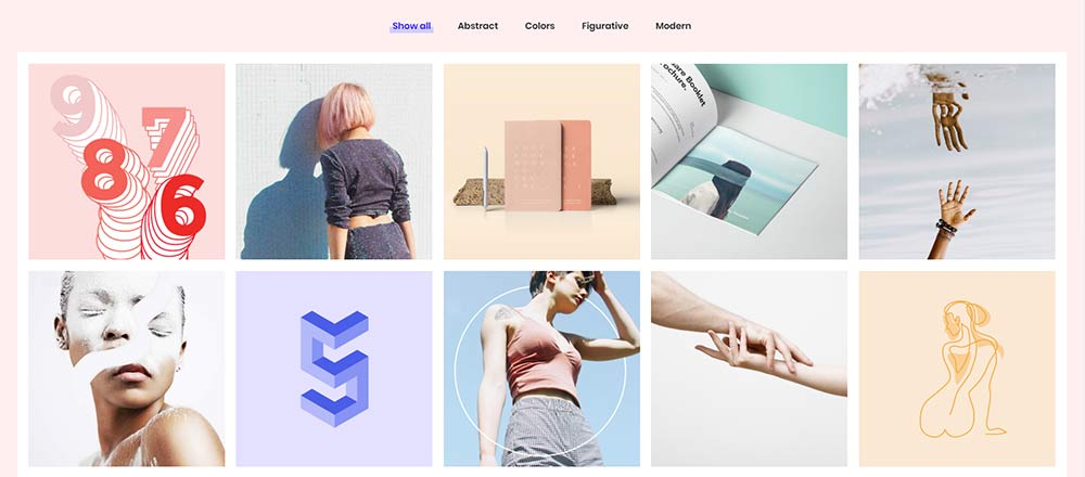 Sekko WordPress Theme - Portfolio Categories