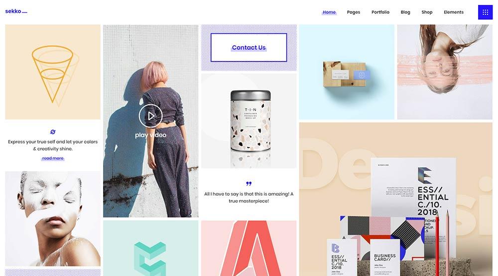 15 Best Artist Portfolio Wordpress Themes For 2020 Wpklik