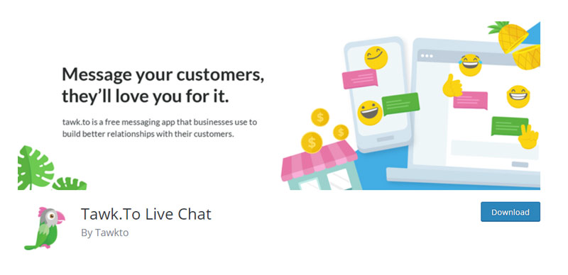 Tawk To Live Chat
