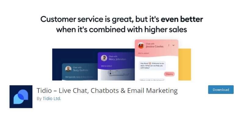 Tidio Live Chat
