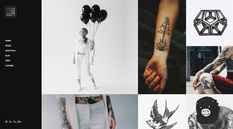 Tristero Tattoo WordPress Theme