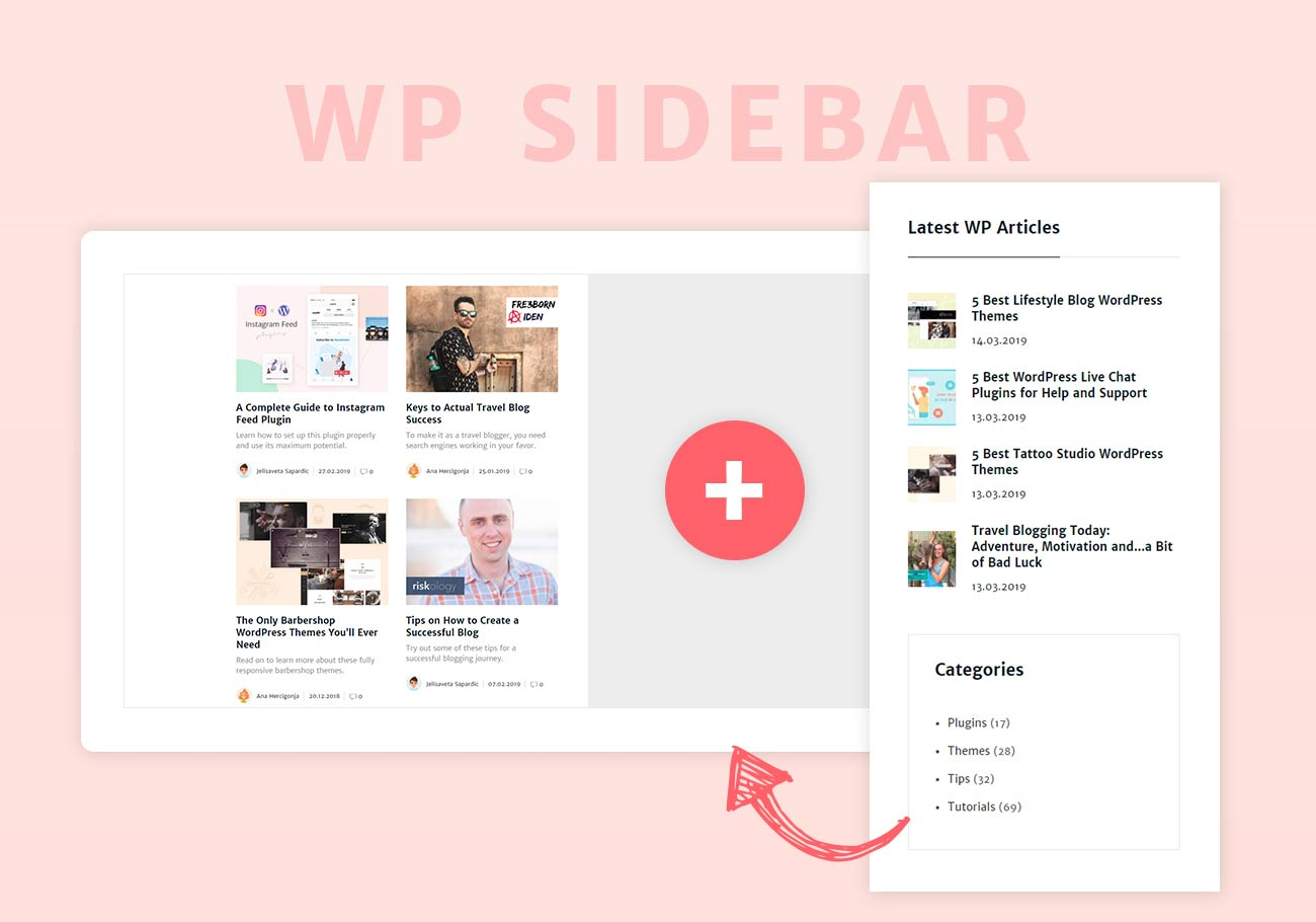 What is WordPress sidebar and how to create it