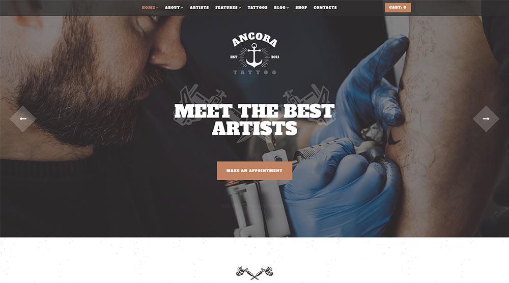 Ancora WordPress Theme