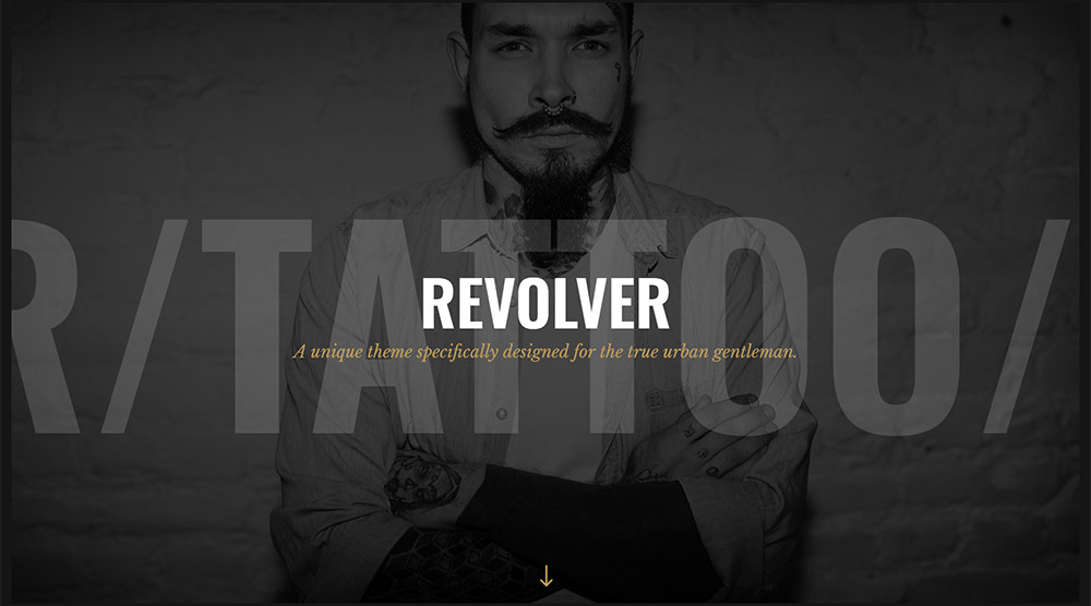 Revolver WordPress Theme
