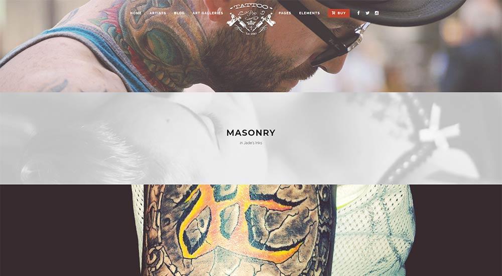 Tattoo Pro Horizontal Gallery