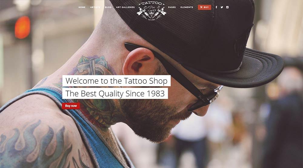 Tattoo Pro WordPress Theme