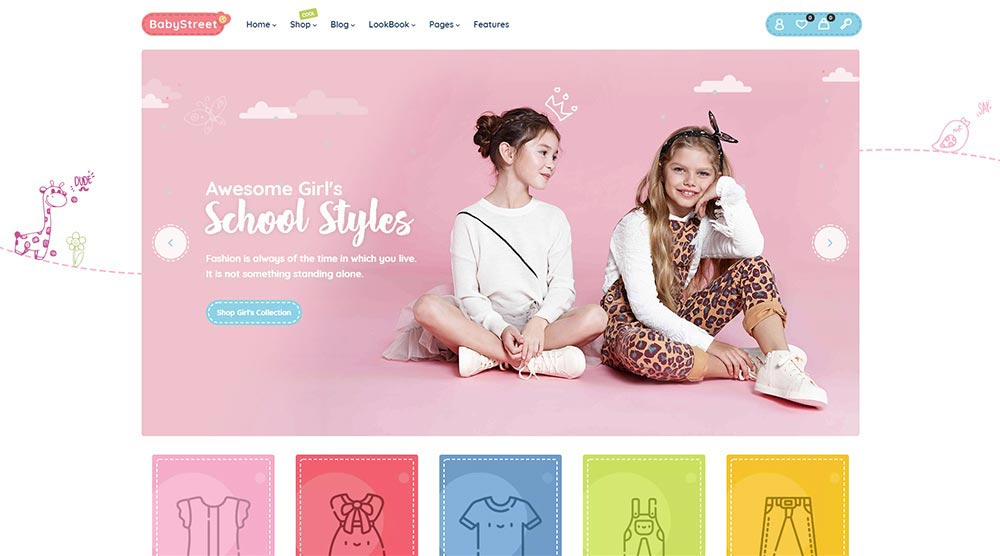 BabyStreet WordPress Theme