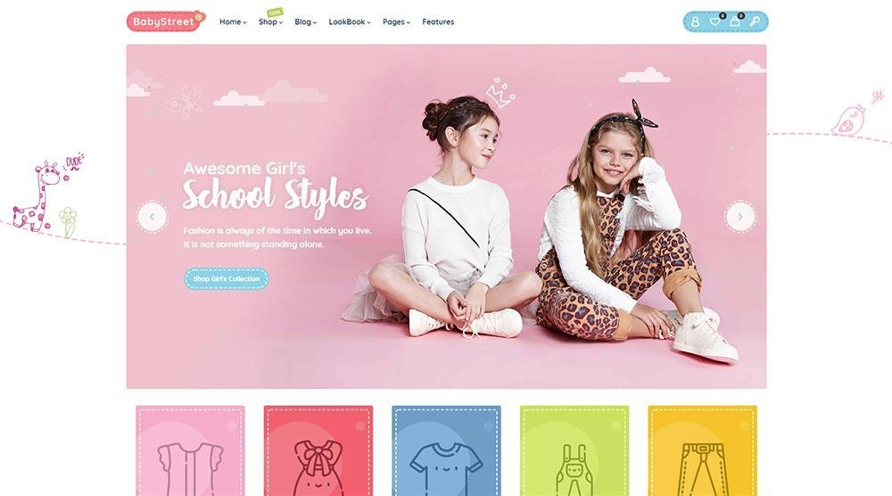 BabyStreet WordPress Theme