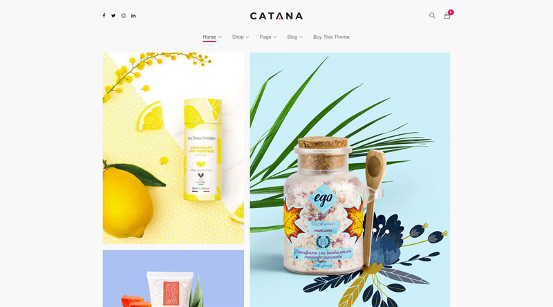 Catana WordPress Theme