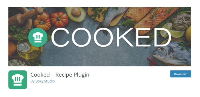 Cooked Recipe Plugin