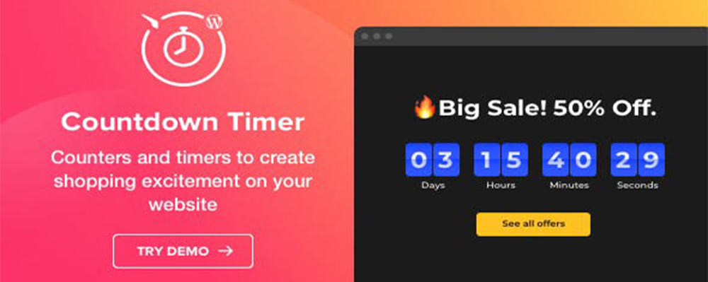 Countdown Timer - WordPress Countdown Timer plugin