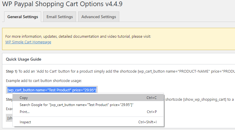 Create an Add to Cart button for a product