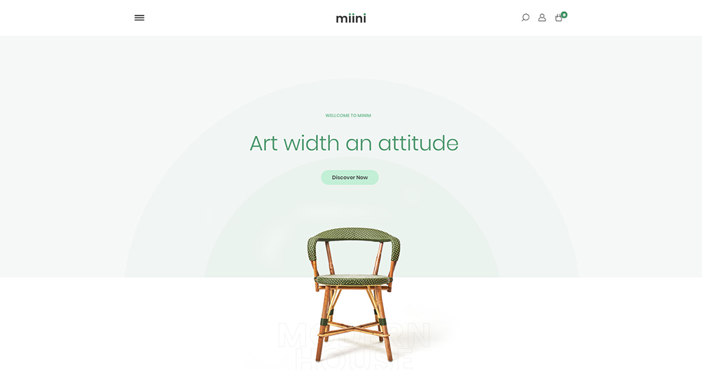 Miini WordPress Theme