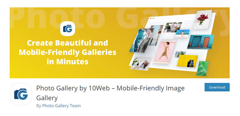 Photo Gallery by 10Web WordPress Plugin