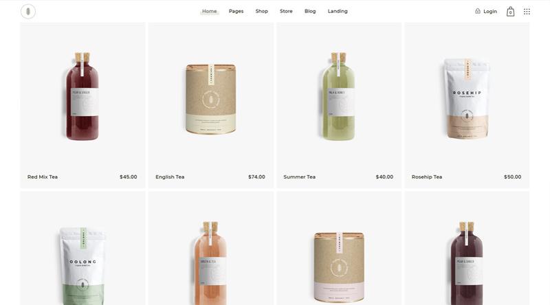 Sante Cosmetics WordPress Theme