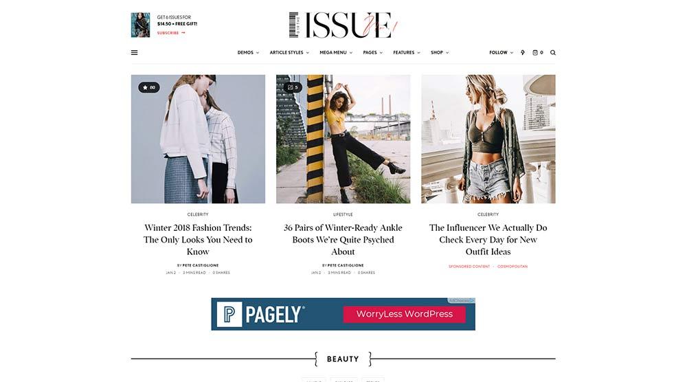The Issue WordPress Theme