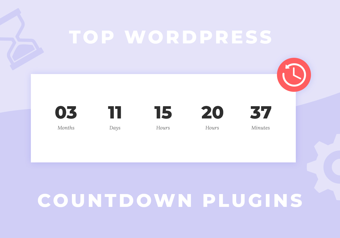 Top 5 Free WordPress Countdown Timer Plugins