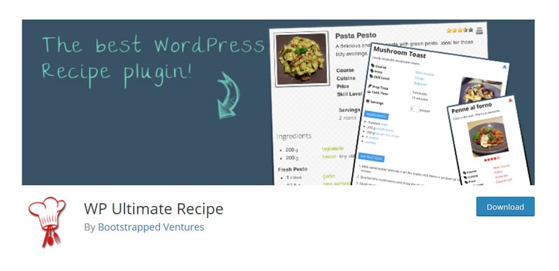 WP Ultimate Recipe