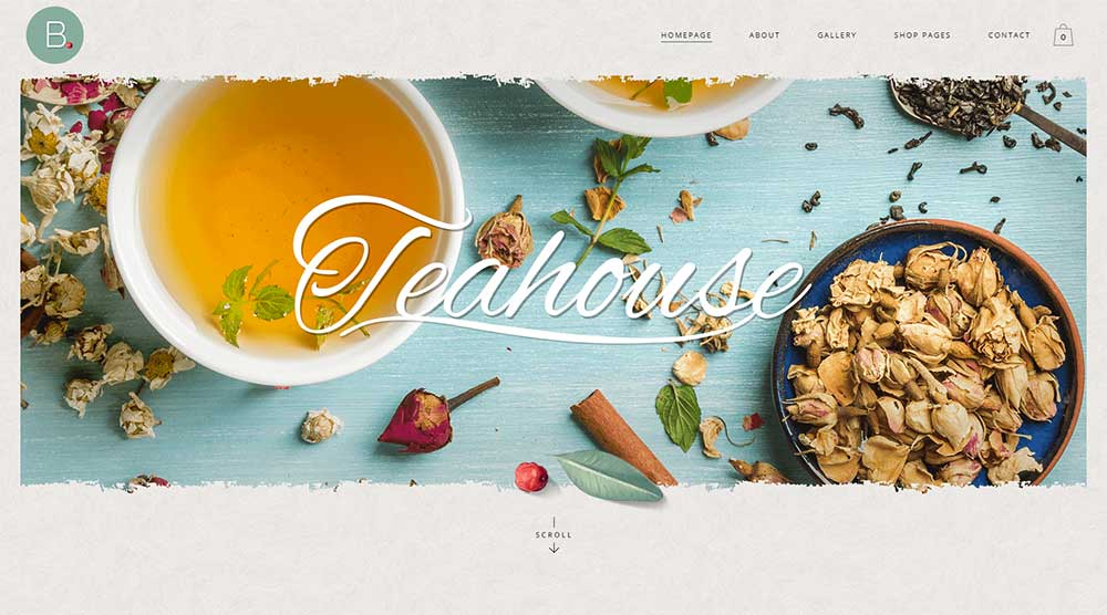 Bridge Tea WordPress Theme
