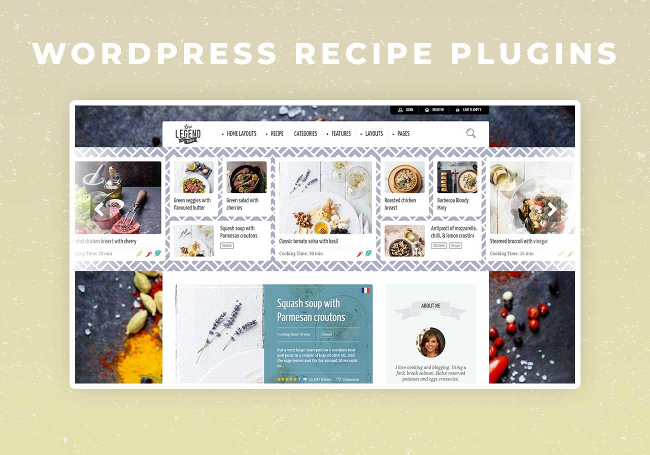 5 Best WordPress Recipe Plugins for Your Food Blog