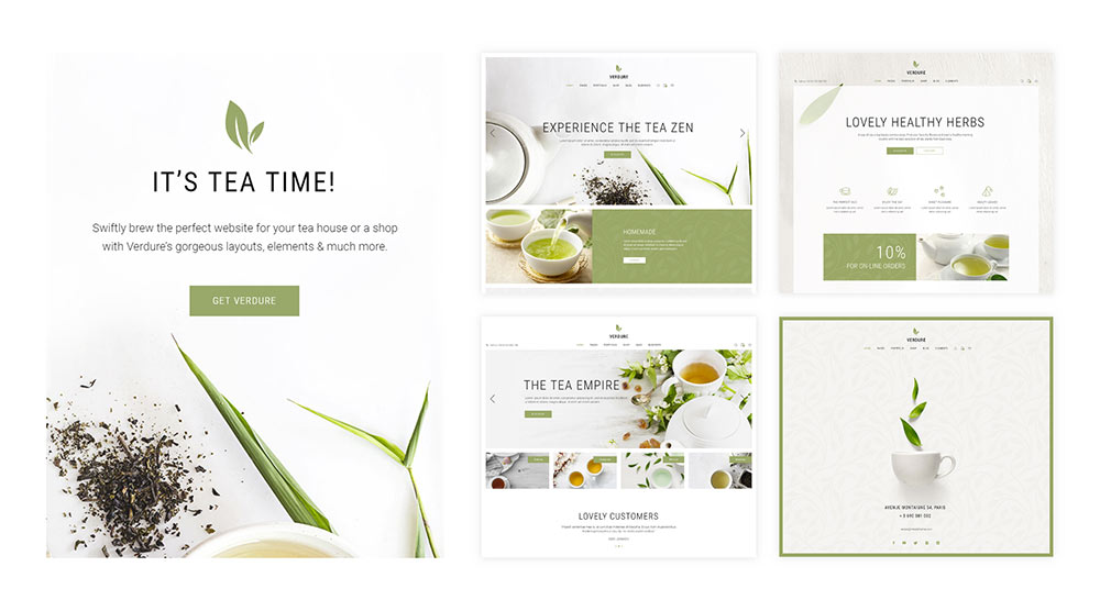 Verdure WordPress Theme