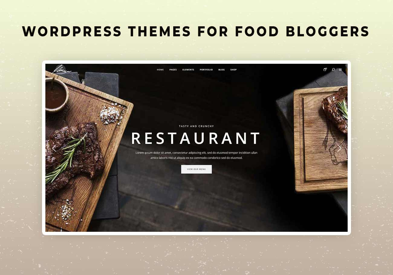 5 Delicious WordPress Themes for Food Bloggers