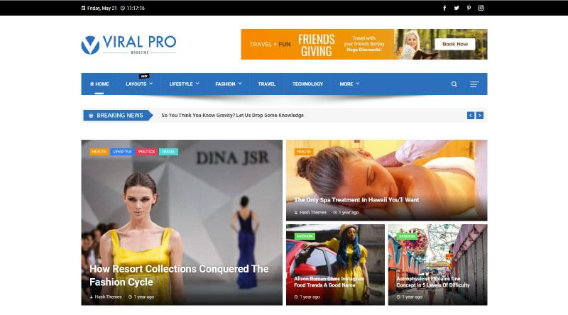Viral Pro WordPress Theme