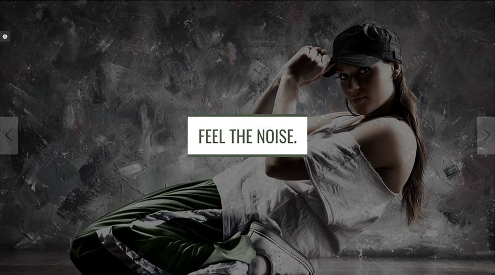 NOISE Music WordPress Theme