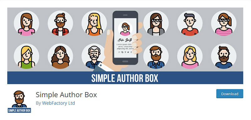 Simple Author Box Plugin