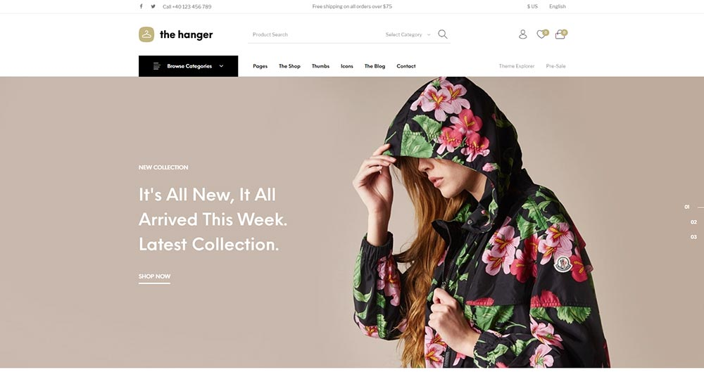 The Hanger WordPress Theme