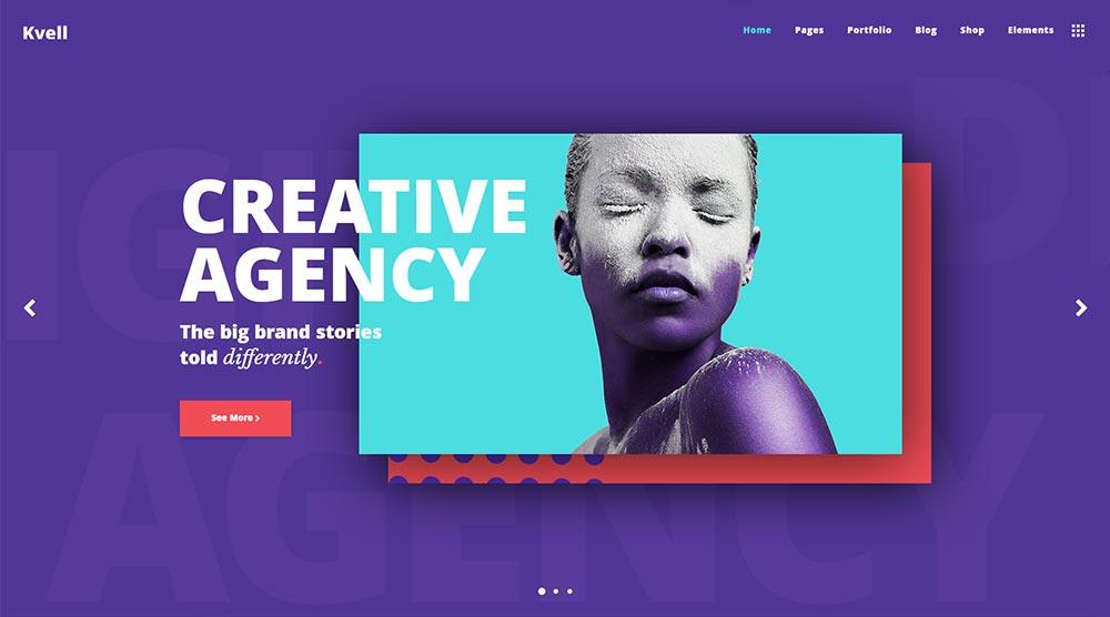 Kvell WordPress Theme