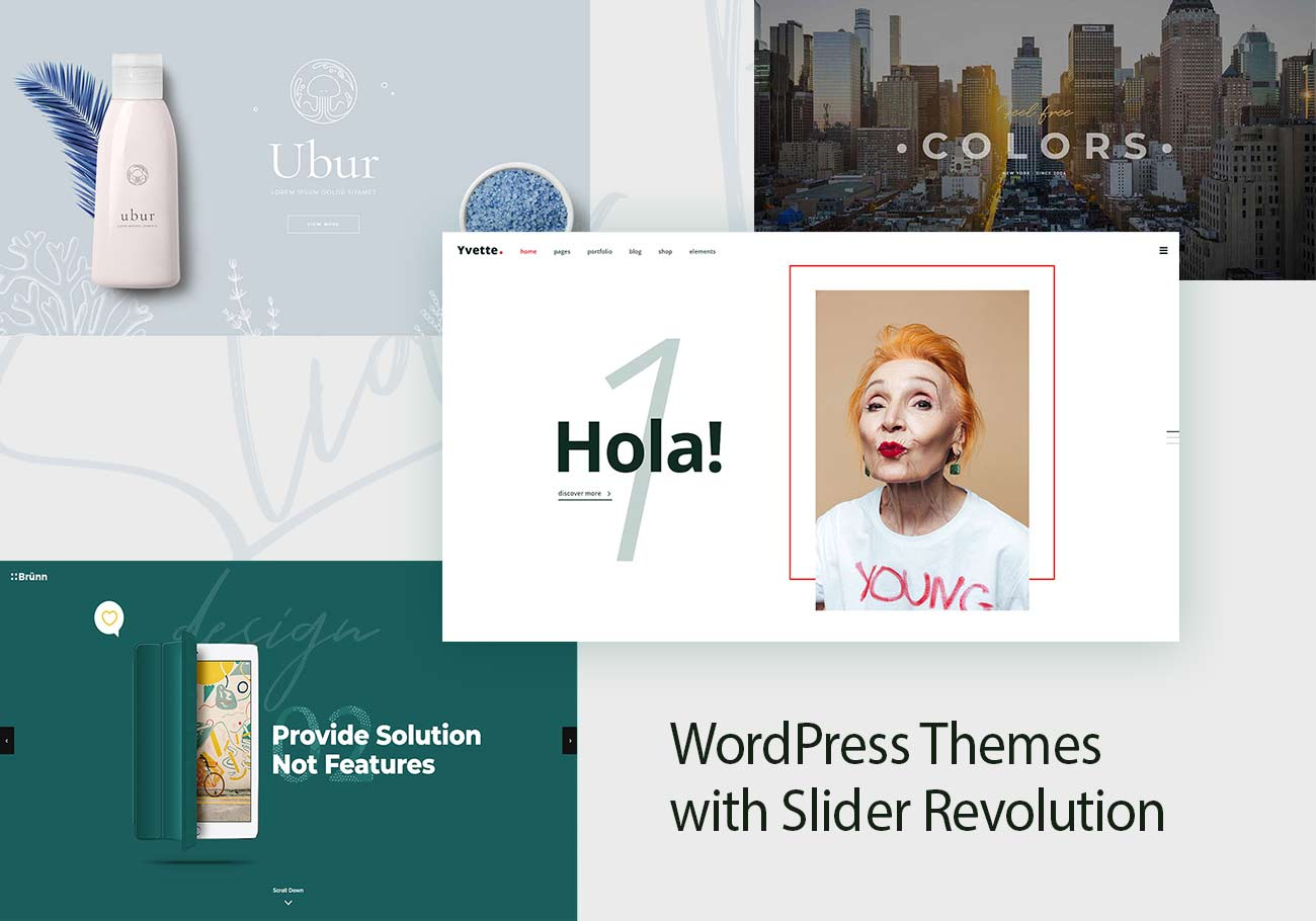 20 Great WordPress Themes with Slider Revolution