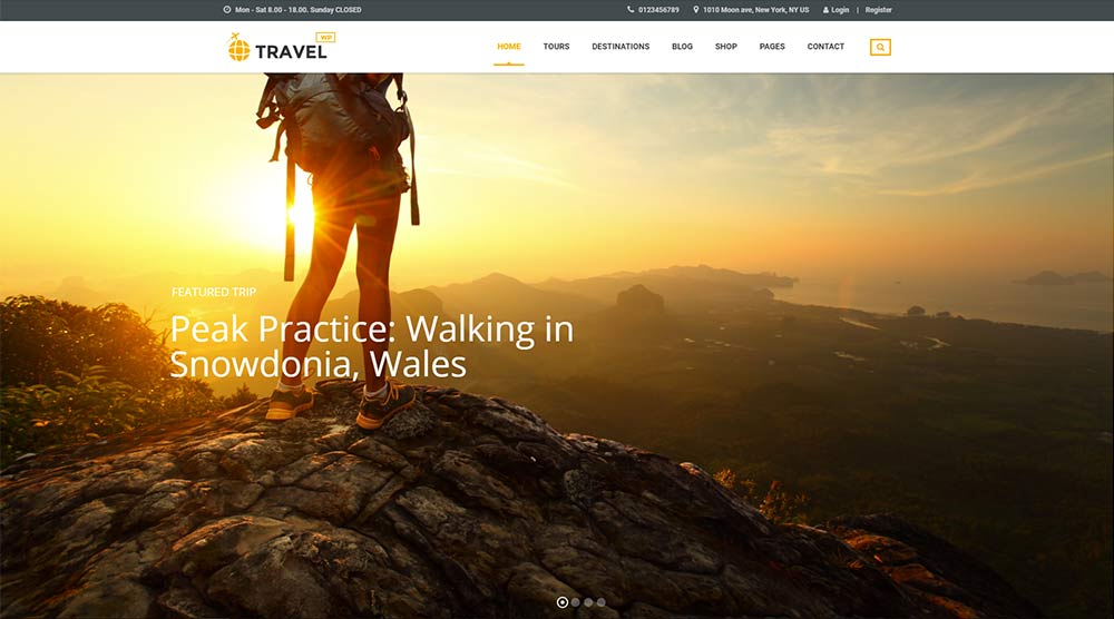 TravelWP WordPress Theme