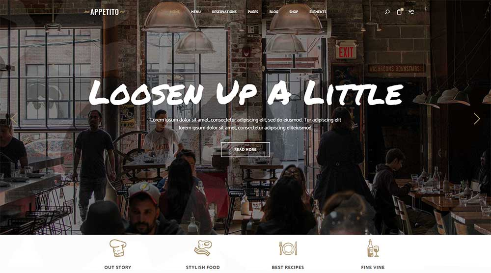 Appetito WordPress Theme